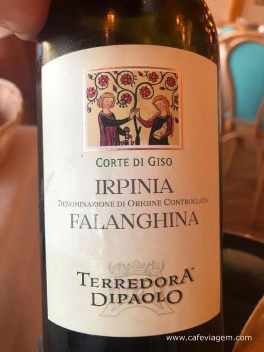 Falanghina vinhos sul da Italia