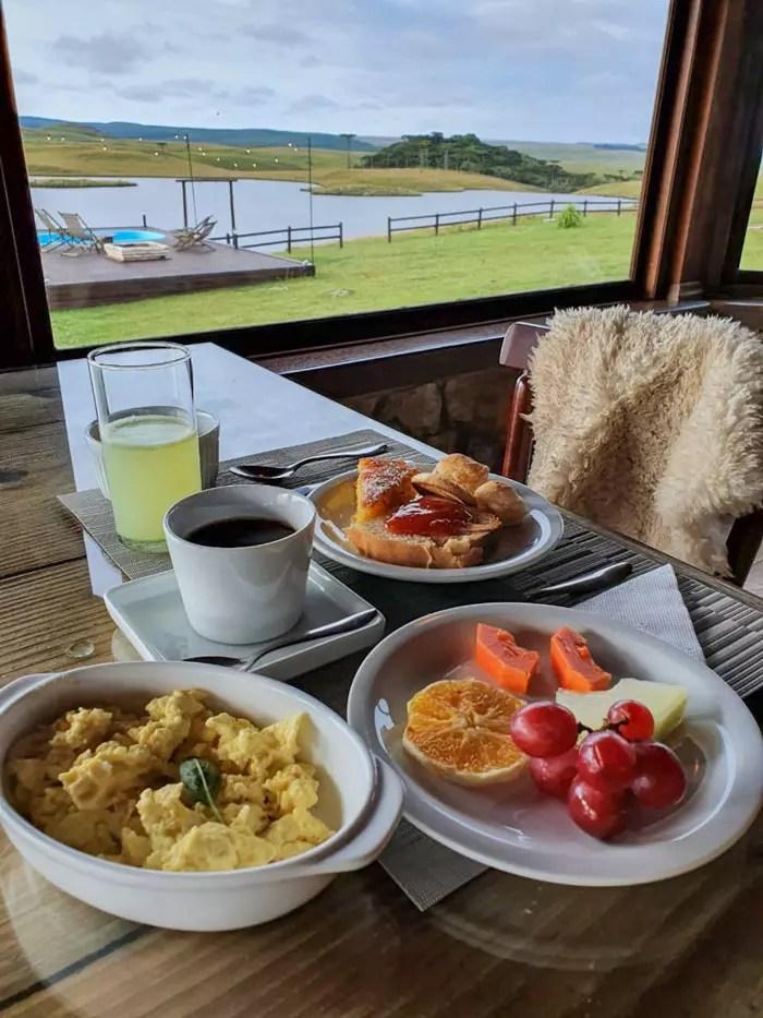café da manhã estância