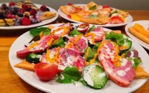 Smoked Duck & Salad Crepe