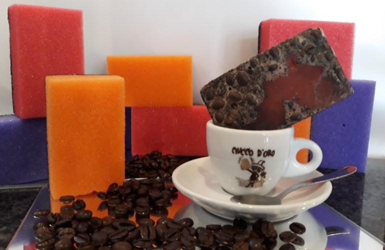 Saponetta al cacao e caffè
