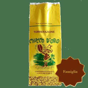 Torrefazione Caffè Chicco D'Oro | Caffè Famiglia in grani, macinato per moka ed espresso