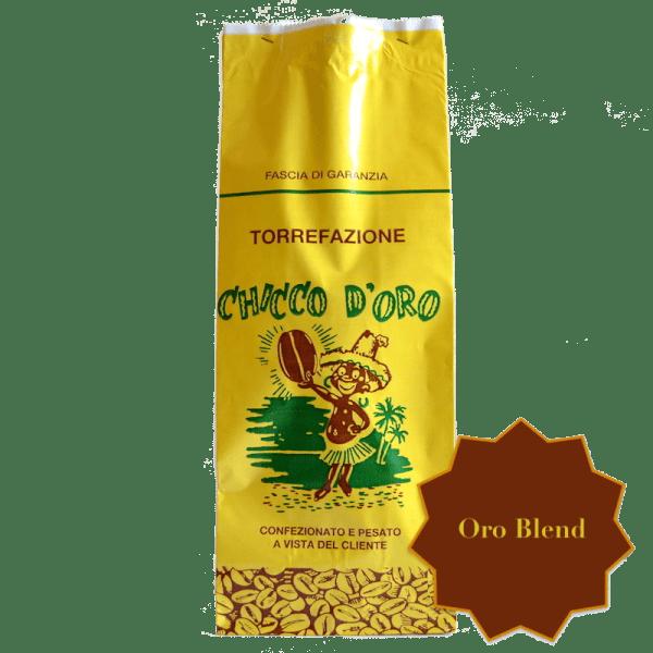 Torrefazione Caffè Chicco D'Oro   Caffè Oro Blend in grani, macinato per moka ed espresso