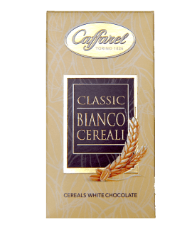 Torrefazione Caffè Chicco D'Oro | Tavoletta Cioccolato - Classic Bianco Cereali - Caffarel