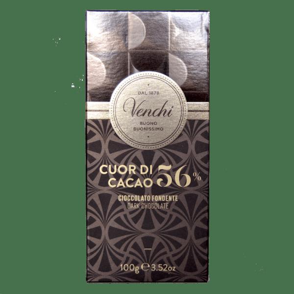 Torrefazione Caffè Chicco D'Oro | Tavoletta Di Cioccolato Fondente 56% Cuor di Cacao - Venchi
