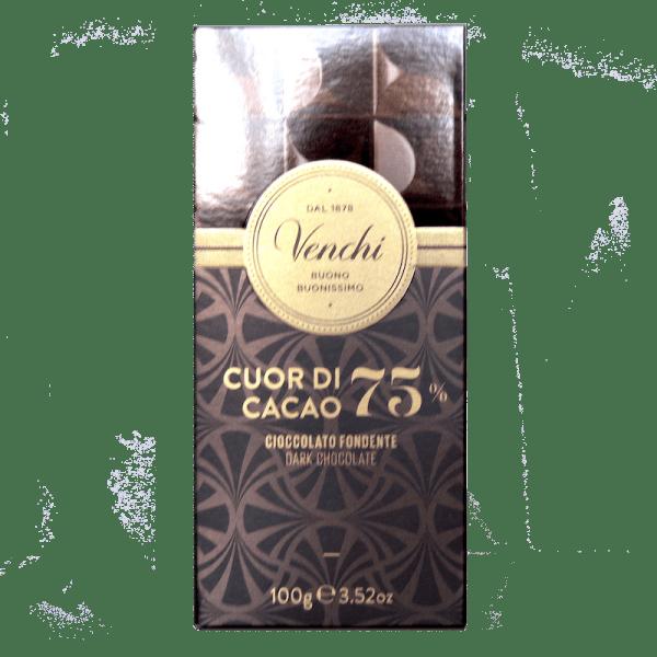 Torrefazione Caffè Chicco D'Oro | Tavoletta Di Cioccolato Fondente 75% Cuor di Cacao - Venchi