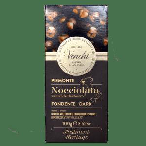 Torrefazione Caffè Chicco D'Oro | Tavoletta Cioccolato Fondente 56% Nocciolata - Venchi