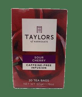Sour Cherry Tea Taylors _ Caffè Torrefazione Chicco D'Oro