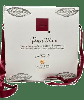 Panettone Con Arancia Candita E Gocce Di Cioccolato Sal De Riso - Torrefazione Caffè Chicco D'Oro