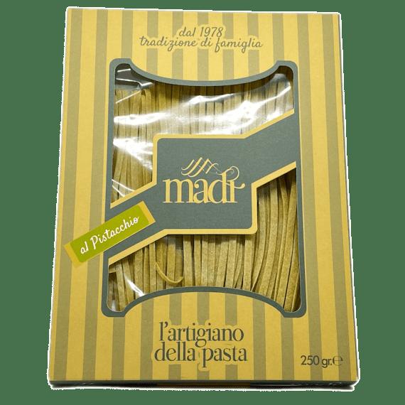 Tagliatelle Al Pistacchio L'Artigiano Della Pasta - Torrefazione Caffè Chicco D'Oro