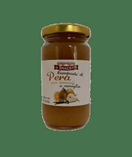 Composta Pere con Arancio e Vaniglia Le Spiazzette – Torrefazione Caffè Chicco D'Oro.png