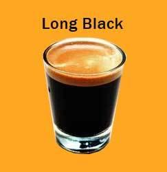 long black