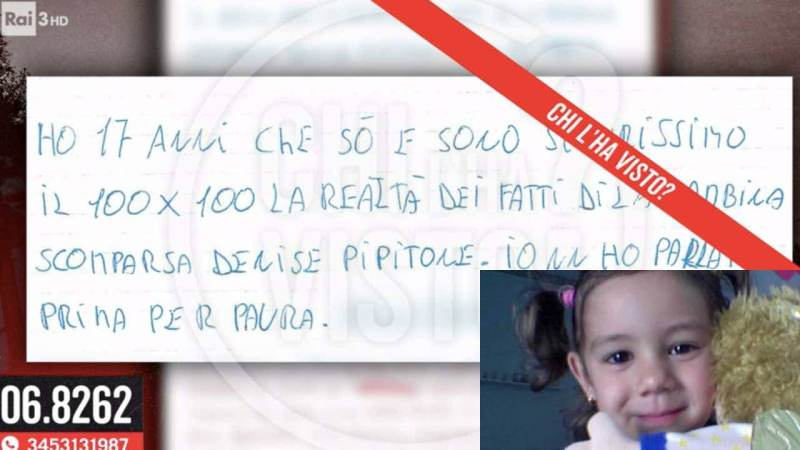 それを見たデニス・ピピトーネの手紙