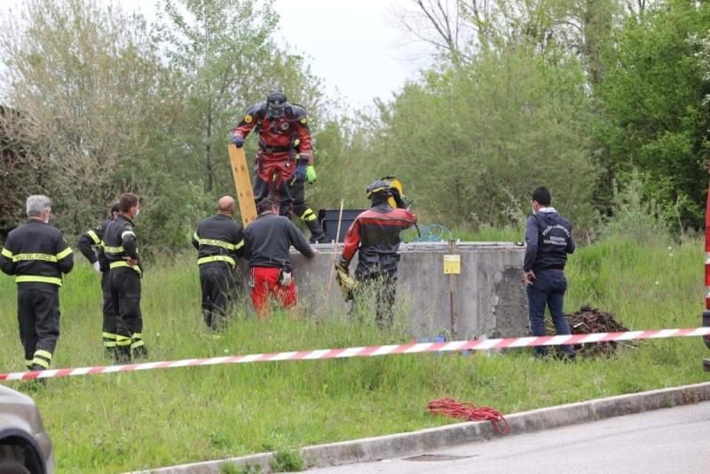Antonio Circelli Morto Caduto Pozzo Recupero Cane Montefalcone di Val Fortore Benevento