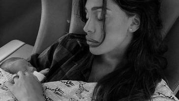 Belen Rodriguez, neo mamma e nuove accuse. Gli occhi di tutti cadono proprio lì