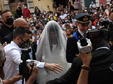 """""""C'era anche lui"""". Al matrimonio di Federico Bernardeschi non è passato inosservato"""