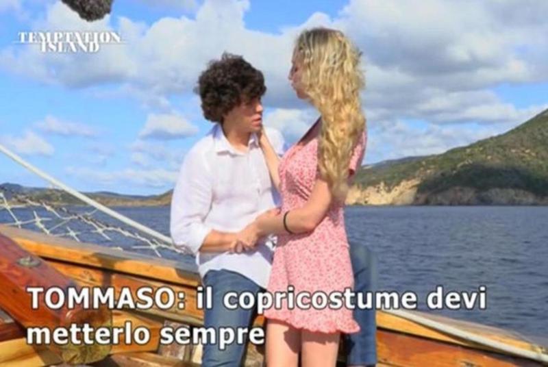 tommaso valentina squalificati temptation island 2021