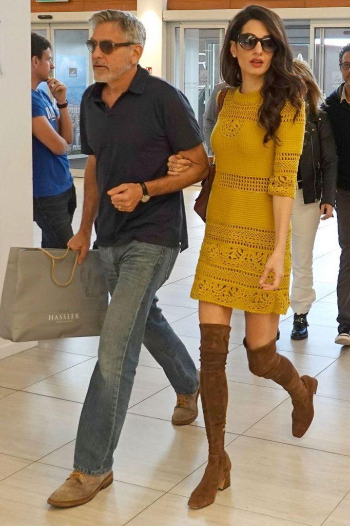 George Clooney amal nessun terzo figlio