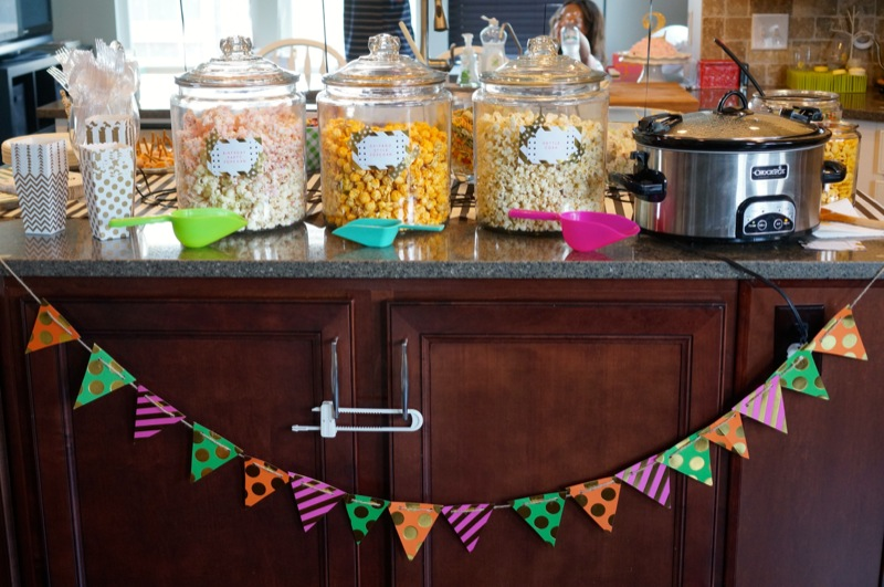 Lottie's 2nd Birthday Party: Popcorn Party