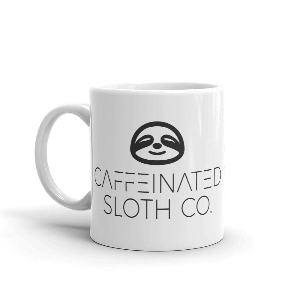 Caffeinated Sloth Mug