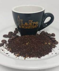 Example of Extra Coarse Grind Coffee to help you choose your coffee grind