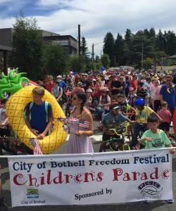Celebrate July 4th in Bothell