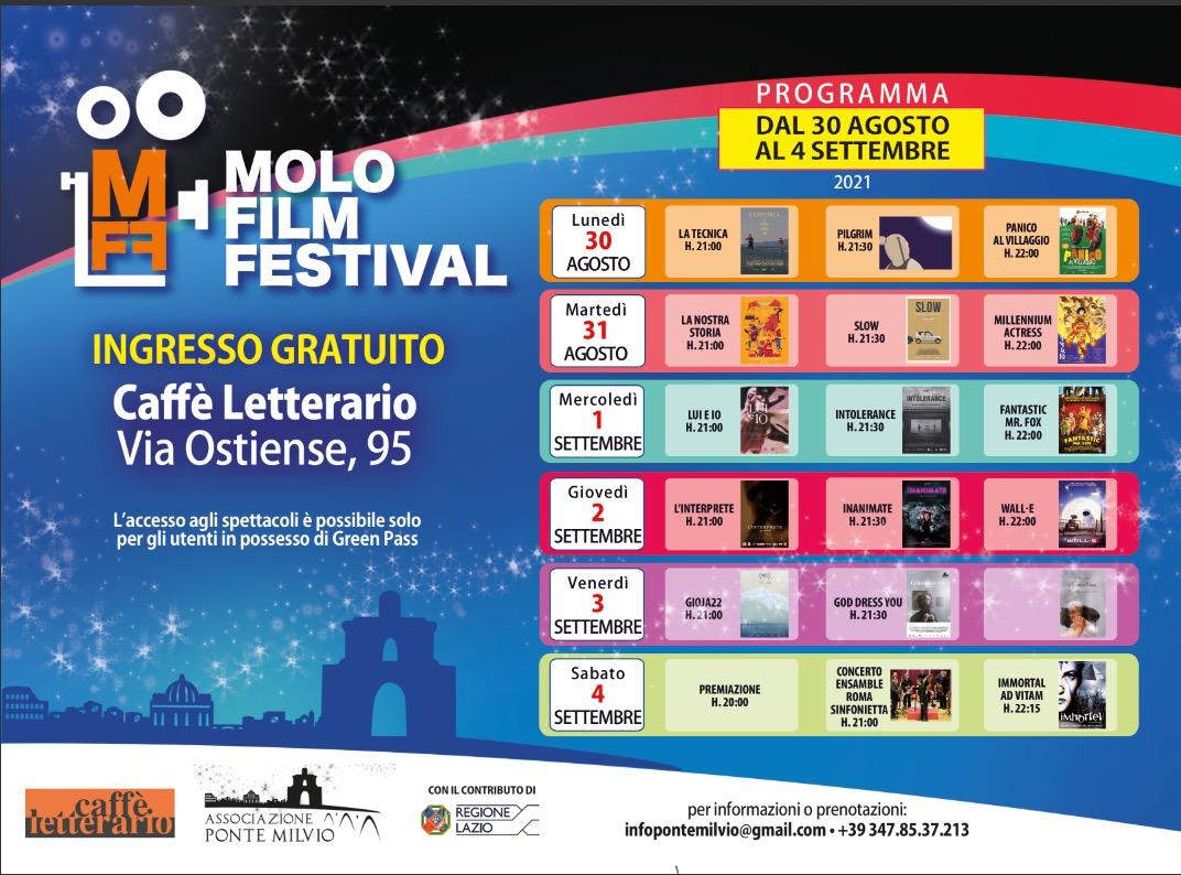 Molo Film Fest, Un Drink Gratis Il 1 Settembre