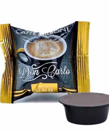 100 Capsule Borbone Don Carlo Miscela Oro Compatibili con Lavazza A Modo Mio