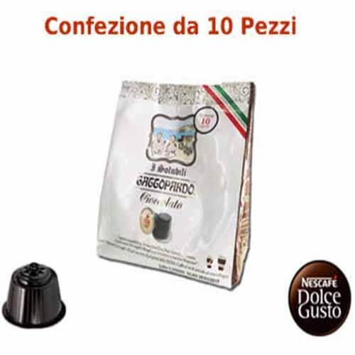 96 Capsule ToDa Caffè Gattopardo Cioccolata Compatibili con Nescafé Dolce Gusto