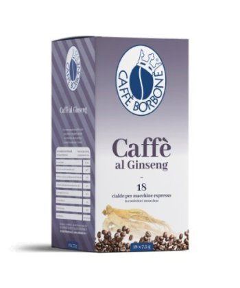 Cialde Borbone Caffè e Ginseng 44 mm