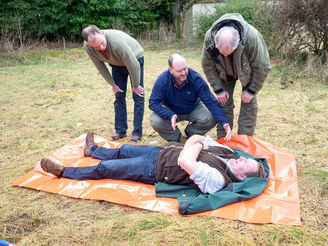 Emergency First aid at work + Forestry
