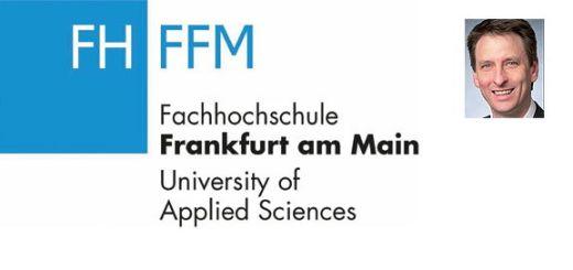 Prof. Jochen Abel ist zum Professor für FM an die FH Frankfurt am Main berufen worden