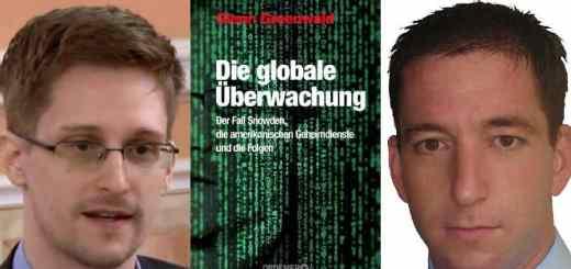 Edward Snowden (li), Glen Gruenwald und Laura Poitras erhalten dieses Jahr die Carl von Ossietzky-Medaille