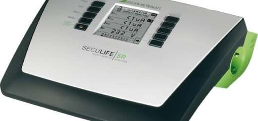 Mit dem Seculife SR stellt Gossen Metrawatt ein neues Testgerät für das medizinische Umfeld vor
