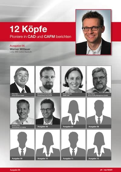 """Werner Wittauer vom IMB erläutert in Teil sechs der Reihe """"12 Köpfe. Pioniere in CAD und CAFM berichten"""", was bei der Beschaffung von CAFM-Software wesentlich ist"""