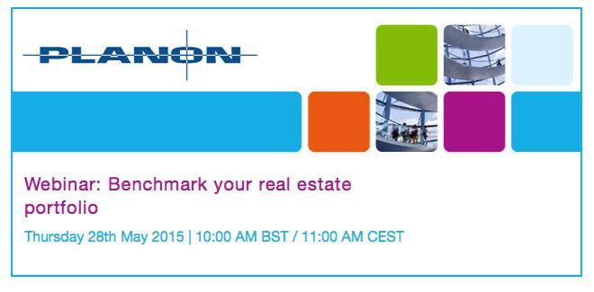 Immobilien-Benchmarking ist Thema eines Webinars von Planon im Mai