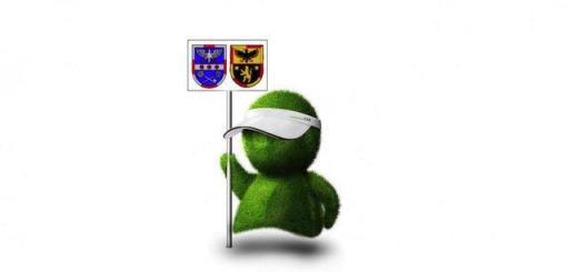 Noch mehr Wappen für's grüne Männchen: Auch die Verbandsgemeinde Rhein-Selz arbeitet jetzt mit communalFM