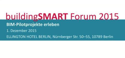Einblick im BIM bietet das 19. buildingSmart Forum am 1. Dezember in Berlin