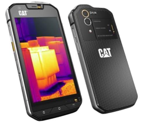 Als erstes Smartphone im Markt integriert das CAT S60 eine Thermokamera