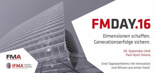 Der FM-Day.16 von FMA und IFMA findet am 28. September in Wien statt