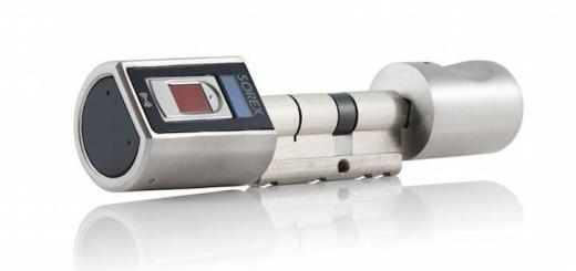 Der neue Sorex Fingerprint-Zylinder sichert sensible Bereiche und merkt sich maximal 999 Fingerabdrücke und 10 Funkfernbedienungen