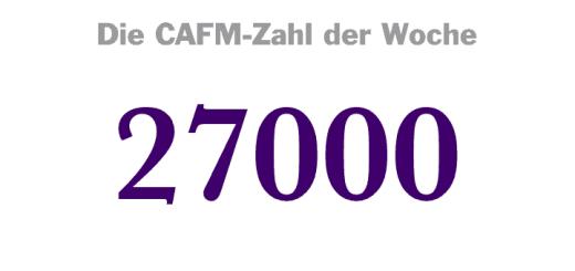 Die CAFM-Zahl der Woche ist dieses Mal die 27000 – für die DIN 27000 zur Informationssicherheit