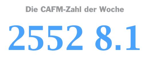 Die CAFM-Zahl der Woche ist die 2552 8.1 – für die erste Richtlinie zu Lehrinhalten für BIM