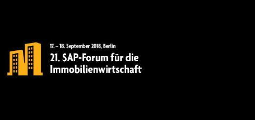 Das 21. SAP-Forum für die Immobilienwirtschaft informiert wieder vielfältig über die digitalen Herausforderungen effizienter Gebäude- und Portfolio-Verwaltung