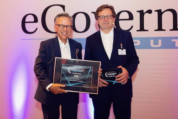Kolibri Software hat erneut den Leserpreis in Gold der Zeitschrift eGovernment Computing gewonnen