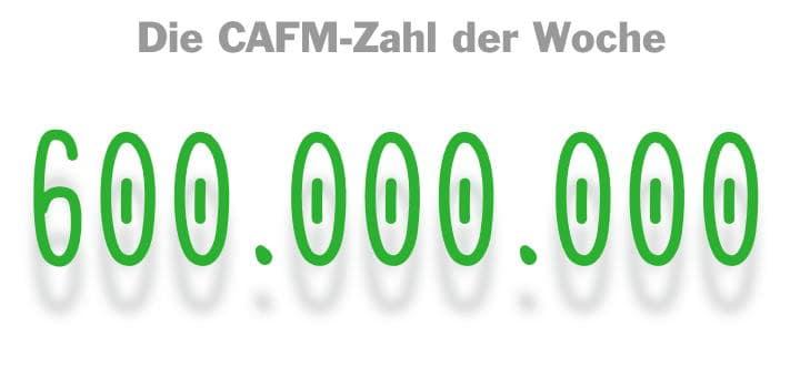 Die CAFM-Zahl der Woche ist die 600.000.000, die Summe, die Google in ein neues Rechenzentrum in Dänemark investieren will