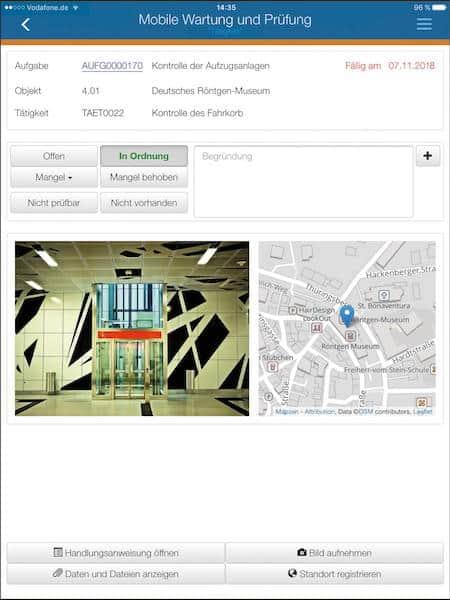 Axians Infoma hat eine App für Liegenschafts- und Gebäudemanagement vorgestellt
