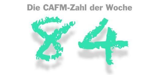 Die CAFM-Zahl der Woche ist die 84, weil es in 84 von 100 IT-Abteilungen schon Datenverlust gekommen ist.