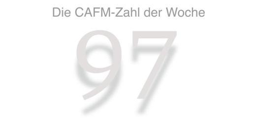 Die CAFM-Zahl der Woche ist die 97 – so viele Web-User lassen freiwillig das Tracking durch Cookies zu