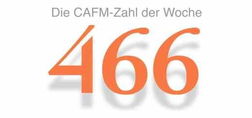 Die CAFM-Zahl der Woche ist die 466 für die Anzahl der Drittanbieter-Cookies, die das Newsportal CIO setzt