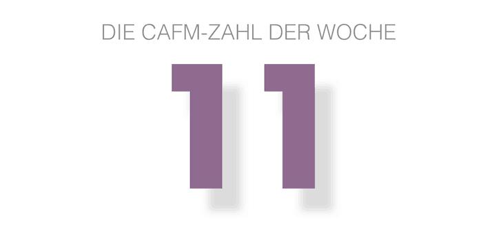 Die CAFM-Zahl der Woche ist die 11, denn in Heft 11 ihrer Schriftereihe erklärt die AHO, wie die HOAI auf BIM-Projekte anzuwenden ist